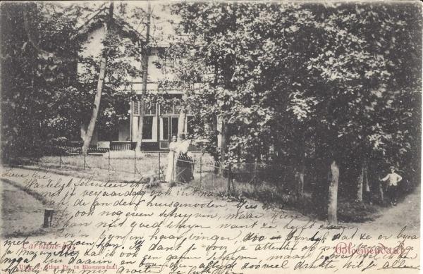 Parkweg korte 3, 1904