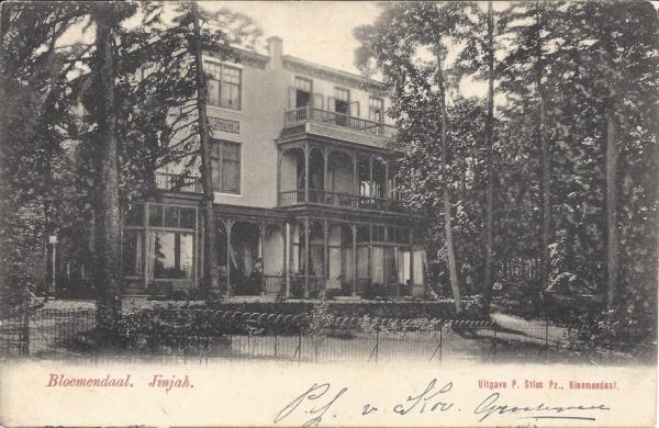 Rijperweg, Villa JinJah, 1904