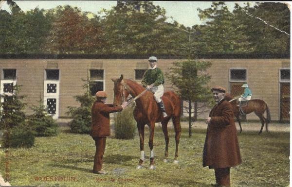 Woestduin, Renbaan, Voor de course, 1910