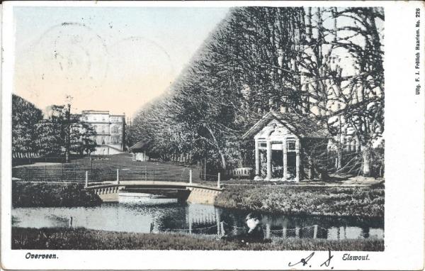 Elswoutslaan, Elswout, 1902