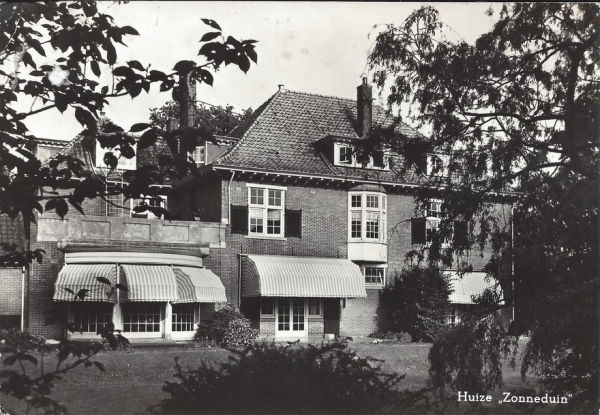 Rijperweg, Huize Zonneduin, 1966