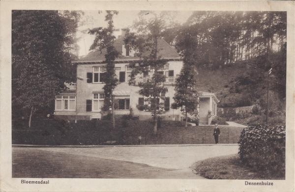 Midden Duin en Daalscheweg, Dennenhuize, 1915