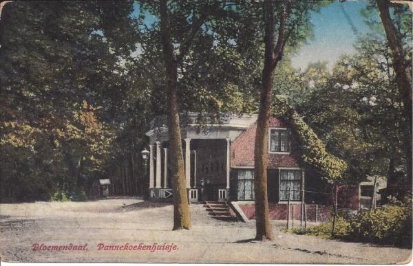 Mollaan, Pannekoekenhuisje, 1914