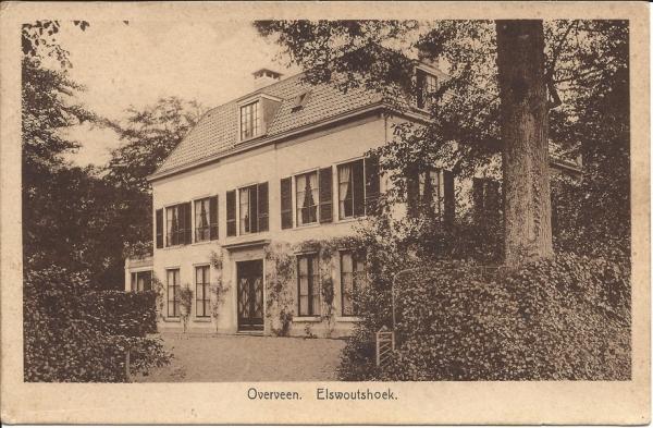 Duinlustweg, Huize Elswoutshoek, 1928