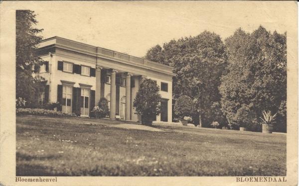 Bloemendaalscheweg, Bloemenheuvel (1)