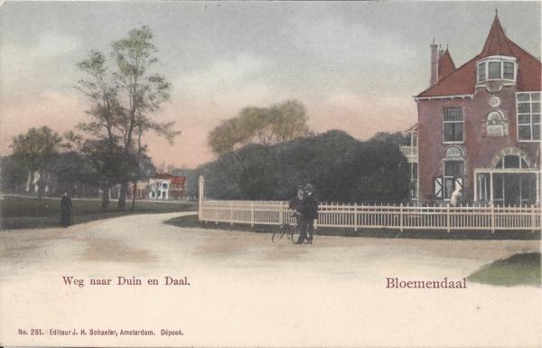 Lage Duin en Daalscheweg, Villa Elshof, 1905