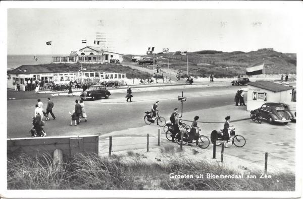 Zeeweg, B'daal aan Zee, 1957