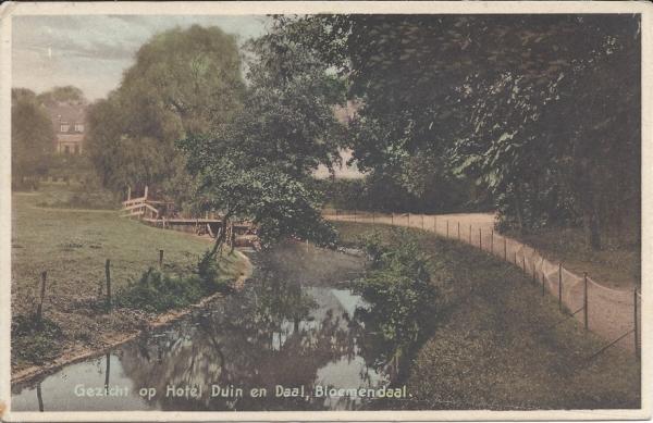 Lage Duin en Daalscheweg, Hotel Duin en Daal, 1930 (2)