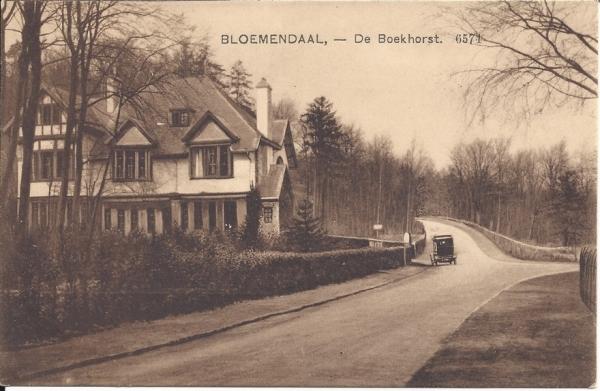 Midden Duin en Daalscheweg, Huize de Boekhorst, 1915