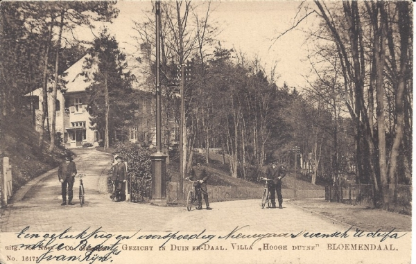 Midden Duin en Daalscheweg, Villa Hoogh Duijne, 1905