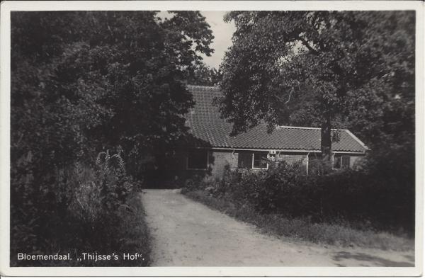 Mollaan, Ingang Thijsse's Hof, 1934