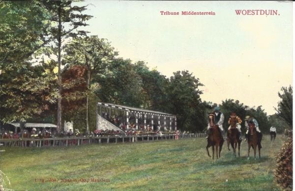 Woestduin, Renbaan Woestduin, 1913 (2)