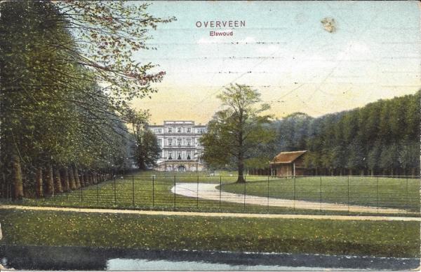 Elswoutslaan, Elswout, 1909