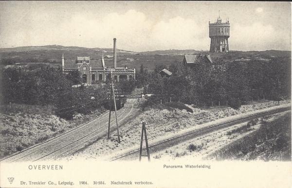 Tetterodeweg, complex PWN , 1904