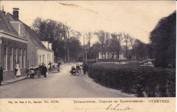 Duinlustweg, Elswoutshoek, 1905