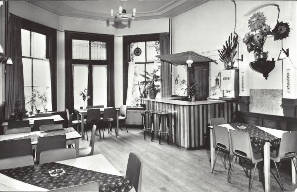 Korte Zijlweg, Jeugdherberg, 1973