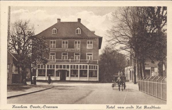 Bloemendaalscheweg, hoek Zijlweg, 1917