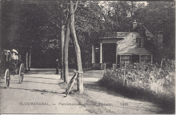 Mollaan, Pannekoekenhuisje, 1911