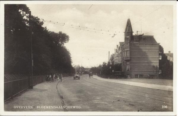 Bloemendaalscheweg, hoek Zijlweg, 1934