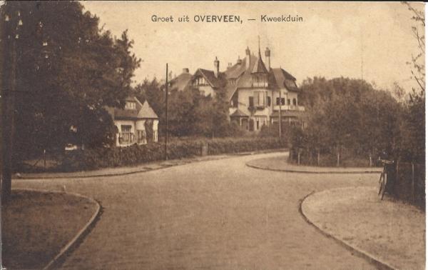 Kweekduinweg, hoek Militairenweg, Villa Duinhof, 1914