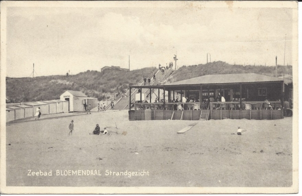 Zeeweg, B'daal aan Zee, 1934