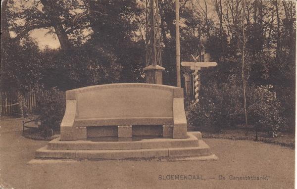 Lage Duin en Daalscheweg, Genestetbank, 1928