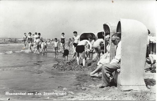 Zeeweg, Bloemendaal aan Zee, 1964