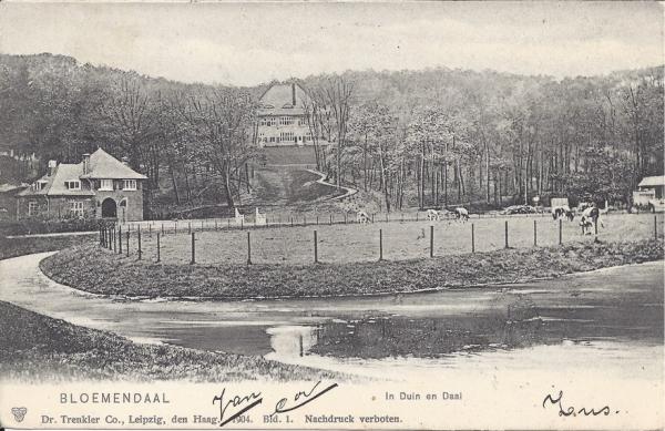 Lage Duin en Daalscheweg, Halve Maantje, Villa Karmel, 1908