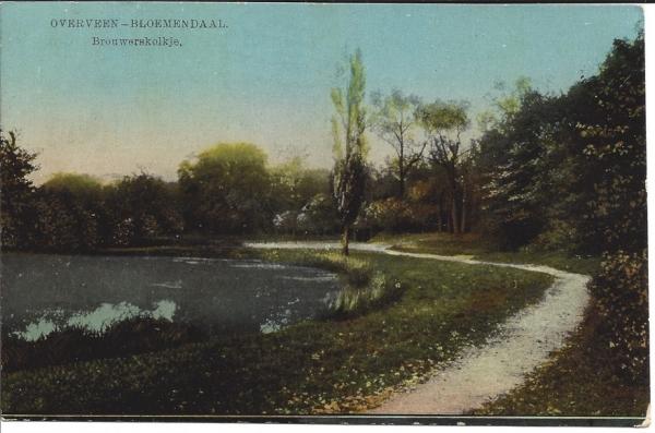 Brouwerskolkweg, 1917