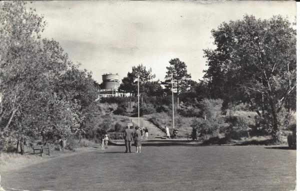 Hooge Duin en Daalscheweg, 't Kopje met Uitkijktoren, 1957
