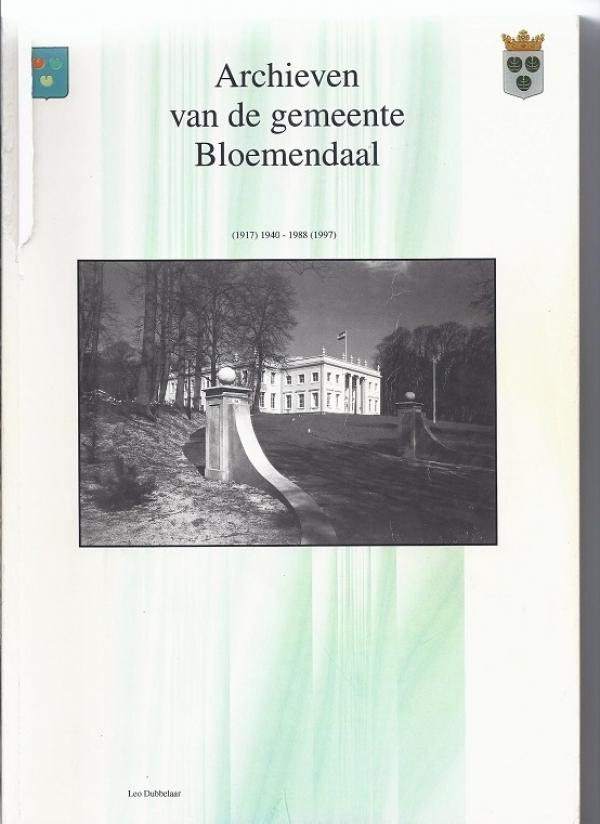 Archieven van de gemeente Bloemendaal, 1930-1939