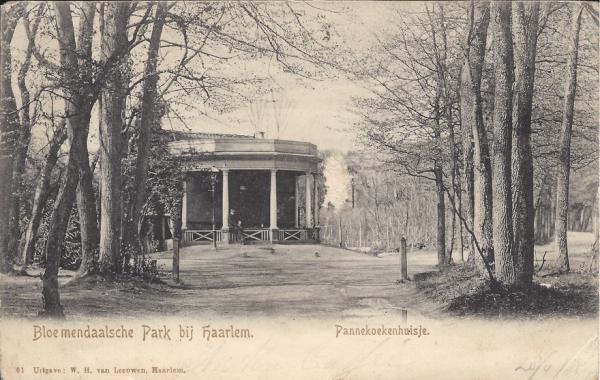 Mollaan, Pannekoekenhuisje, 1906