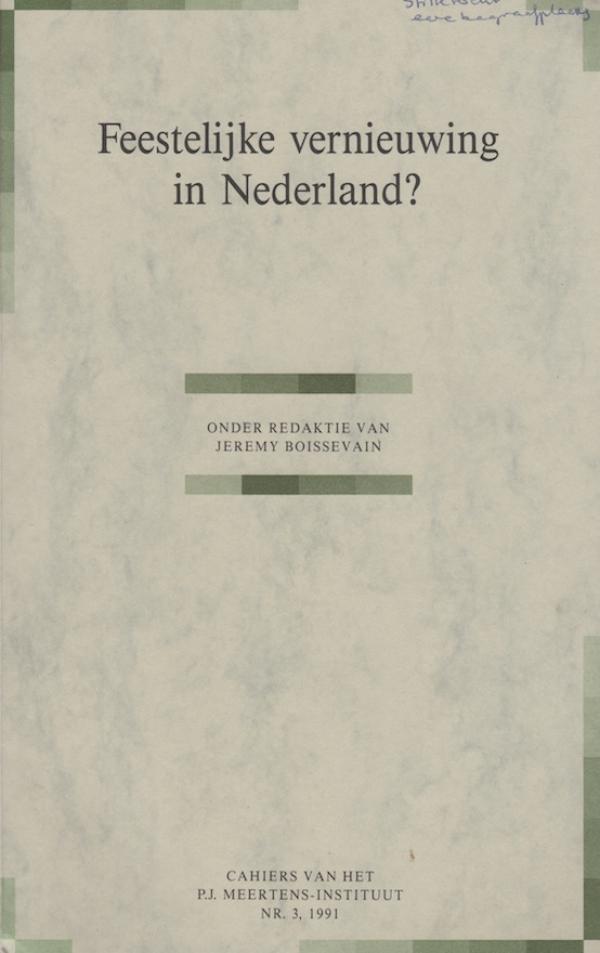 Feestelijke vernieuwing in Nederland?