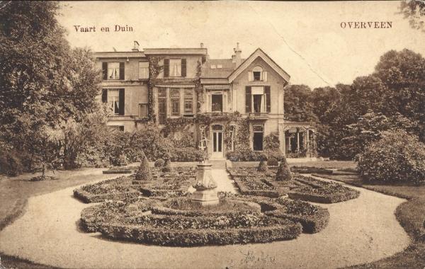 Korte Zijlweg, Huize Vaart en Duin, 1917