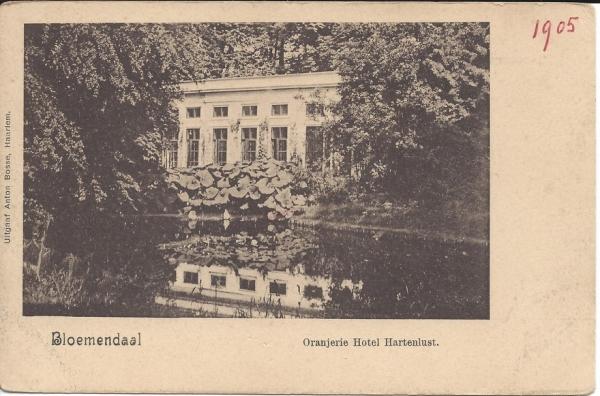 Vijverweg, Hotel Hartenlust 1905 (2)
