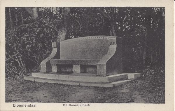 Lage Duin en Daalscheweg, Genestetbank