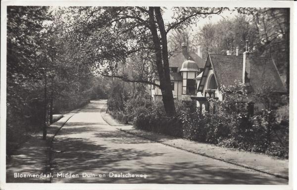 Midden Duin en Daalscheweg, Huize de Boekhorst, 1955