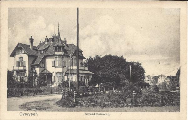 Kweekduinweg, Villa Duinhof, (2)