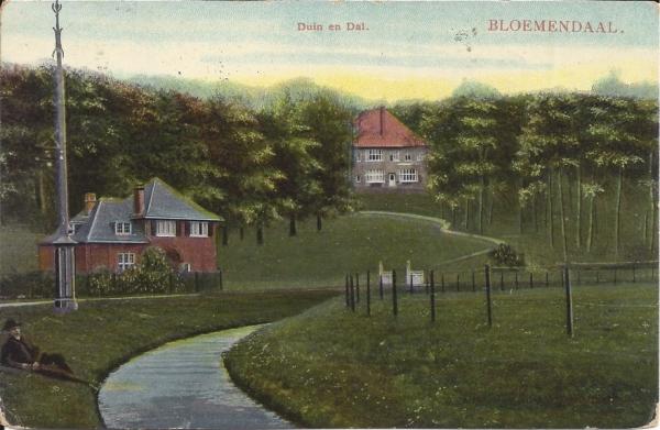 Lage Duin en Daalscheweg, Halve maantje, Villa Karmel, 1906