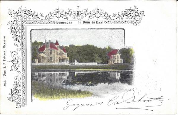 Lage Duin en Daalscheweg, Villa Elshof, 1902 (1)