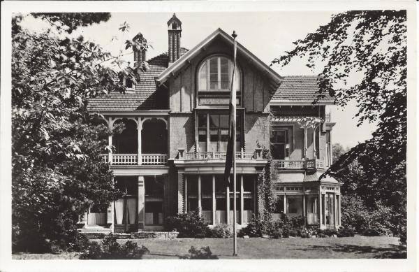 Midden Duin en Daalscheweg, Huize Vijverduin, 1955