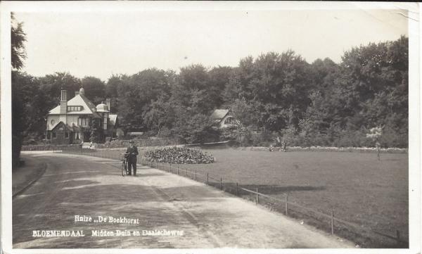 Midden Duin en Daalscheweg, Huize de Boekhorst, 1930