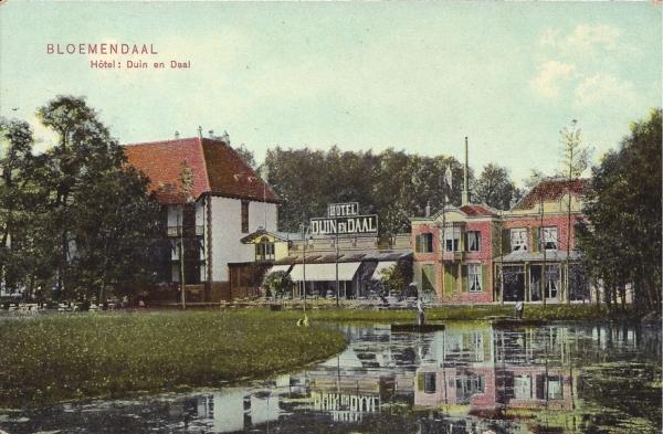Koninginneduinweg, Hotel Duin en Daal, 1907