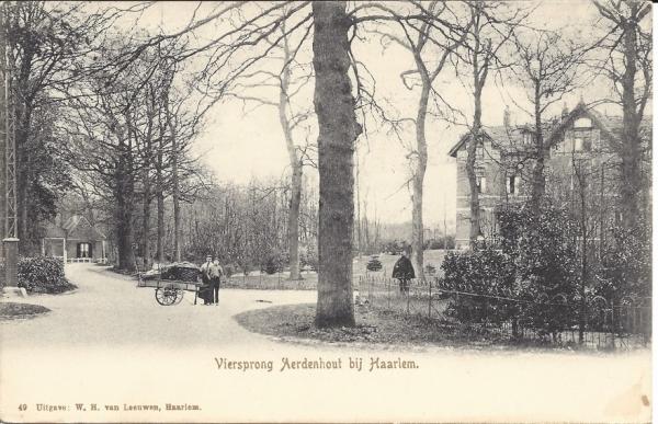Zandvoorterweg, de Viersprong, 1904