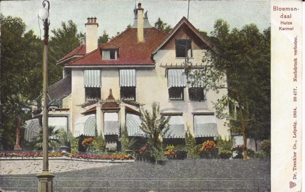 Midden Duin en Daalscheweg, Huize Karmel, 1904