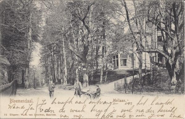 Mollaan, Villa Kinheim, 1906