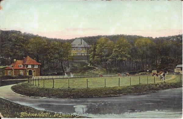 Lage Duin en Daalscheweg, Halve Maantje, Villa Karmel, 1909