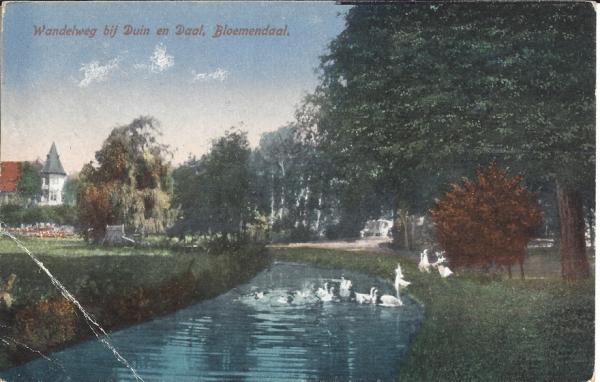 Lage Duin en Daalscheweg, Hotel Duin en Daal, 1922