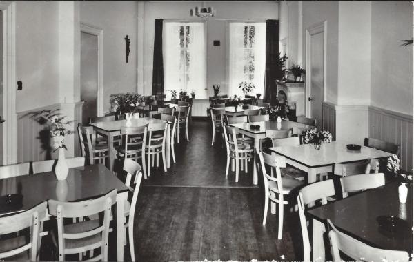 Korte Zijlweg, Jeugdherberg, 1966