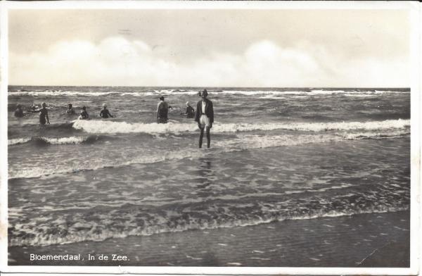 Zeeweg, B'daal aan Zee, 1936 (2)
